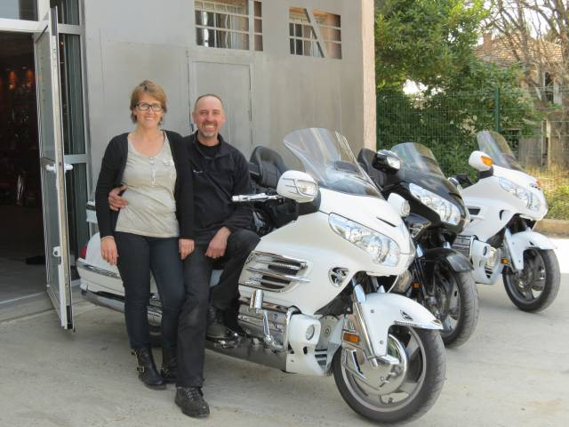 Aix Goldwing David et Delphine