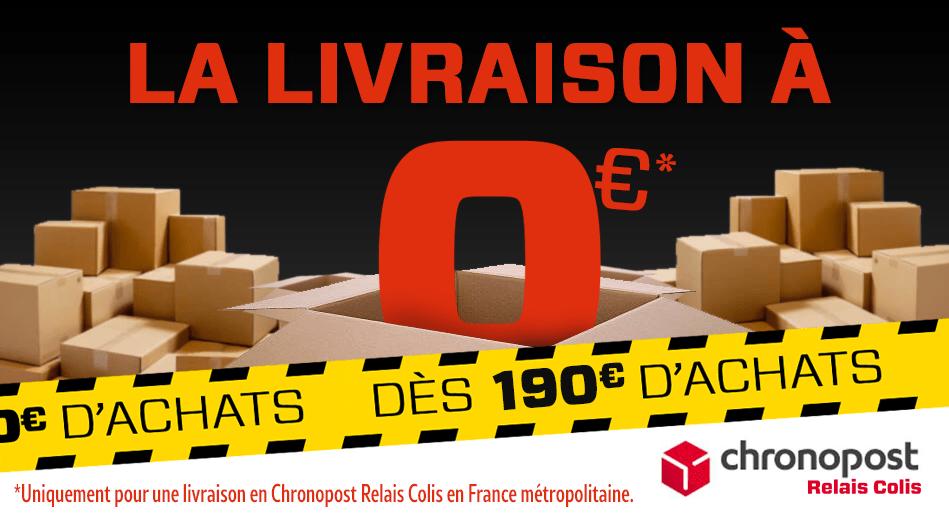 La livraison à 0€