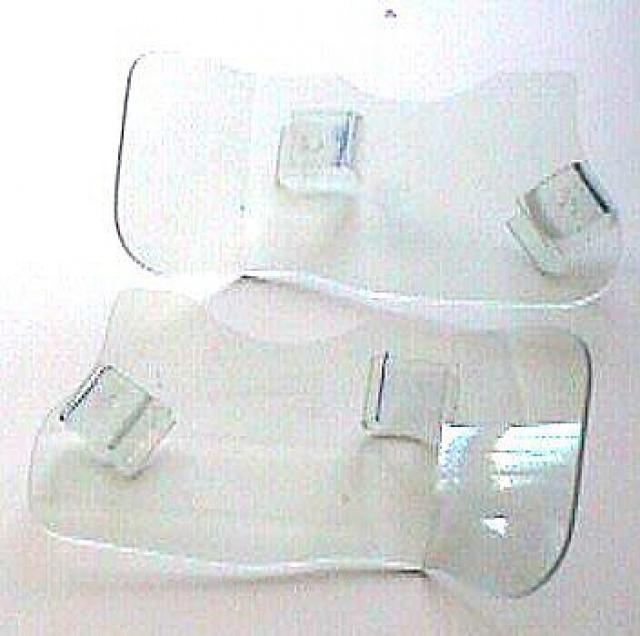 Déflecteurs de pieds