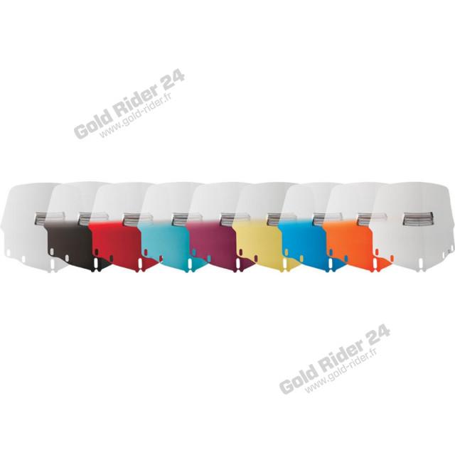 Pare-brise +51mm coloré et ventilé