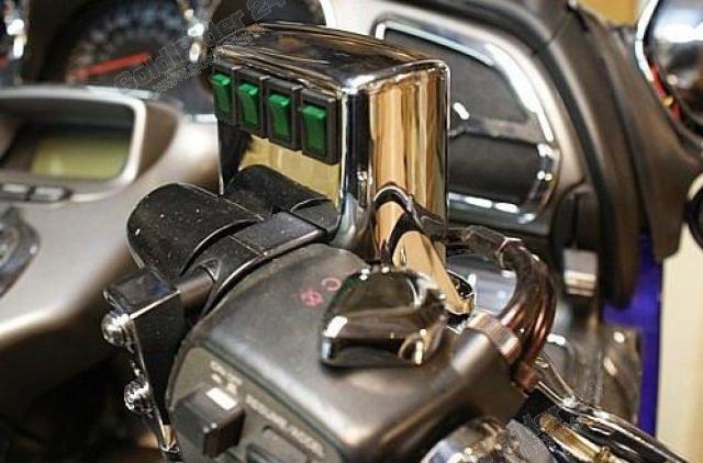 Cocotte droite 4 interrupteurs