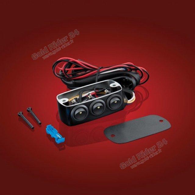 Cocotte gauche 3 interrupteurs