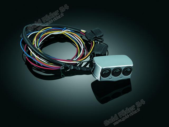 Cocotte 3 interrupteurs lumineux