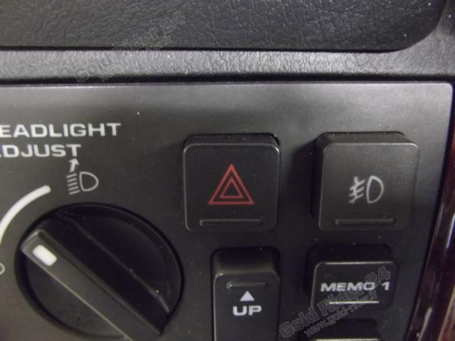Réfection bouton de Warning