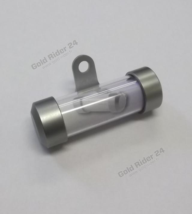 Porte assurance cylindrique
