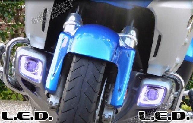 Feux de trottoirs rectangulaires à LED, 3 fonctions