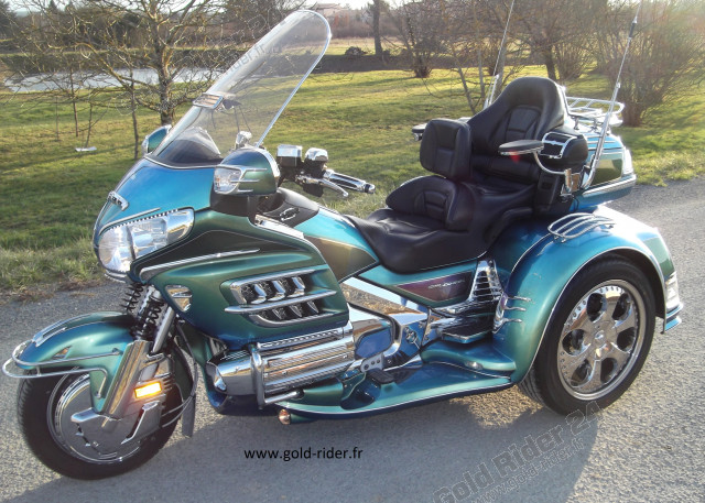 Le projet Gold Rider 2012 sur un Trike Goldwing GL1800 EML