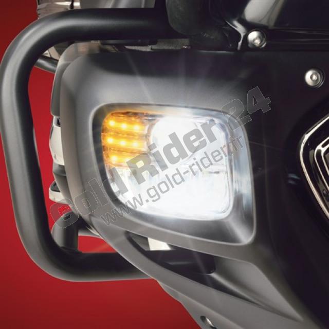 Feux de trottoirs rectangulaire à LED, 3 fonctions
