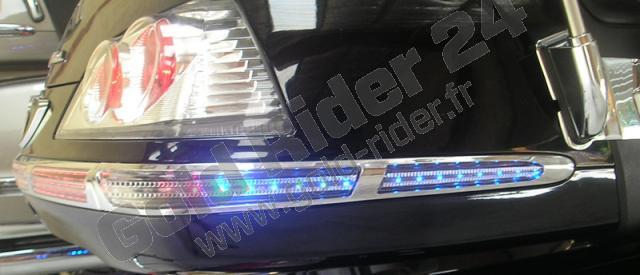 Eclairage personnalisé de l'entourage lumineux de top-case