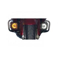 Feux de trottoirs rond à LED, 3 fonctions