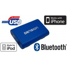 Interface iPod et USB + Bluetooth