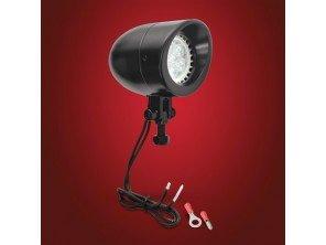 Mini feu led noir 12V 7W