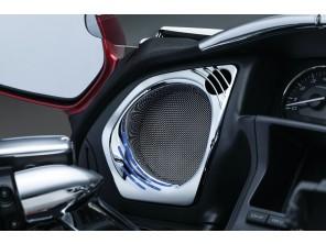 Grilles de haut-parleurs à LED