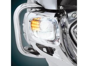 Feux de trottoirs à LED 3 fonctions + faisceau