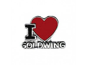 "Pin's ""I Love Goldwing"""