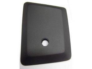 Ensemble couvercle vide-poche avant droit, couleur noir