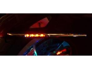 Eclairage personnalisé des barettes lumineuses de garde boue avant