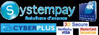 Paiement sécurisé SystemPay CyberPlus 3DSecure